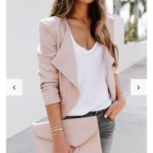 New with Tags! - Vici Blush Jacket - Size Small